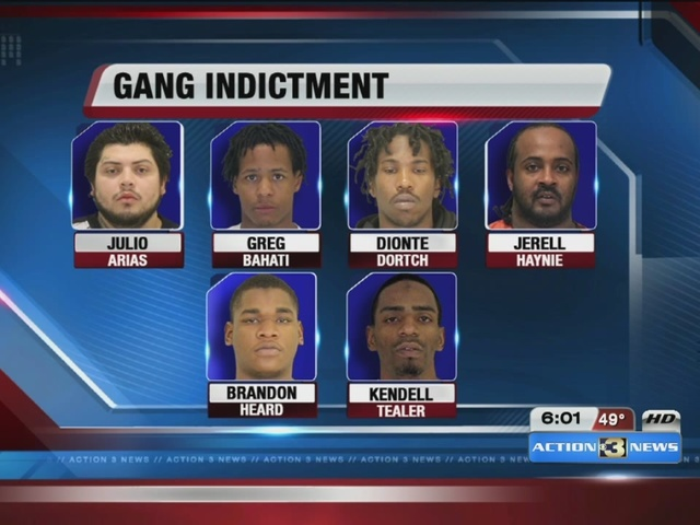 Known Gang Members Indicted For Running