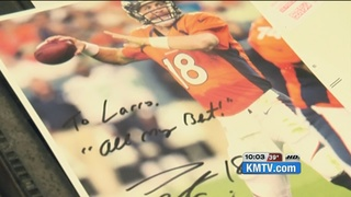 Storeowner has a tight bond with Manning
