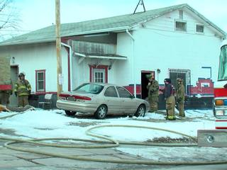 1 hospitalized after house fire in SE Omaha