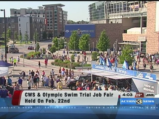 Help wanted for CWS, Olympic Swim Trials