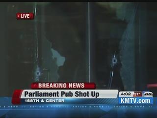 Gunfire damages west Omaha bar
