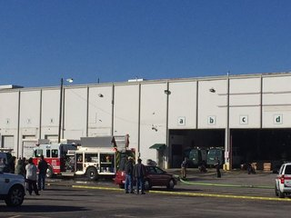 Crews Battle Fire At Nebraska Furniture Mart Warehouse