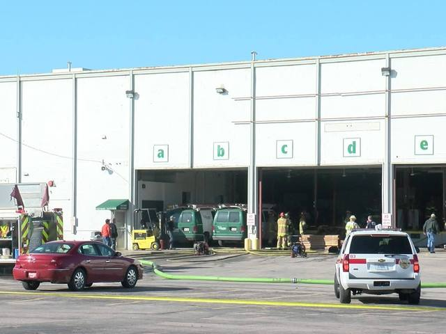 Crews Battle Fire At Nebraska Furniture Mart Warehouse