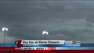 Sky Sox End Storm Chasers Winning Streak