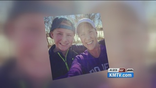 Mother/son to race for loved ones at Marathon