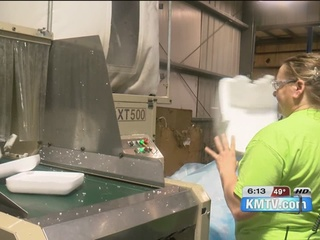 A new place to recycle unwanted Styrofoam