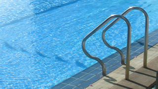 Two year old nearly drowns in pool