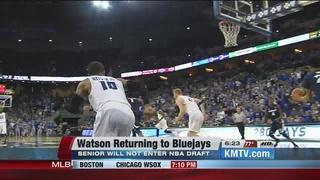 Watson Returning to Creighton