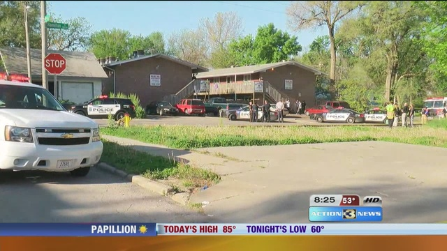 Shooting, Stabbing and fire at same location