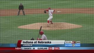 Huskers Waldron Dominates Indiana