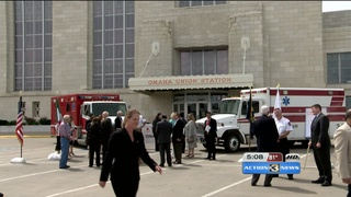 Ambulances donated to Omaha's sister city
