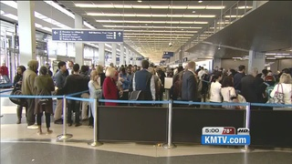 TSA long line concerns travelers