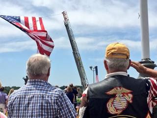 Dozens attend Memorial Day ceremony