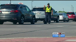 Downtown sporting events cause heavy traffic