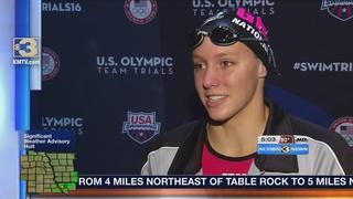 Local swimmers talk Olympic Swim Trials