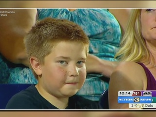 Omaha boy talks about his 'CWS stare down'