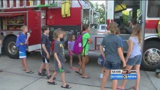 Summer first responder camp for kids