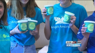 Saying thank you with random acts of ice cream