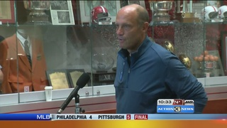Mike Riley on the loss of Sam Foltz