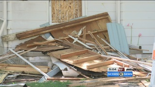 Collateral damage from fatal house explosion