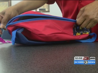 Back-to-school giveaways, also a celebration
