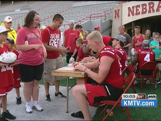 Huskers to host movie night along with fan day