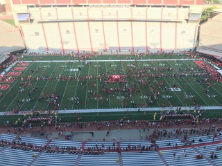 GALLERY: Fan Day at Memorial Stadium