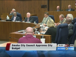 Omaha City Council approves next year's budget