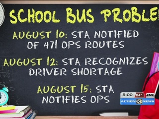 OPS added 50 bus routes, STA had less drivers