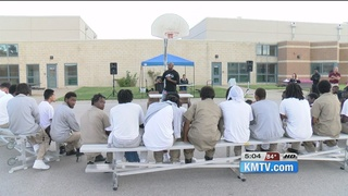 Youth Inmates Hear From Former Husker