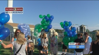 Balloons released in memory of two Elkhorn boys