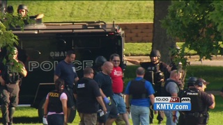 3 hour police standoff ends peacefully