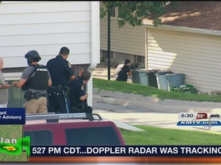Police standoff ends at 45th and Frances streets