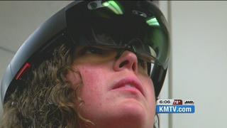 Virtual reality medical training in works at...
