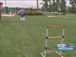 Seniors get physical at feild day