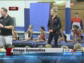 Decorated gymnast Nastia Liukin visits Omaha