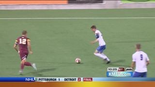 Creighton Men's Soccer Team Knocks Off...