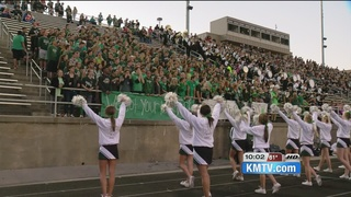 Millard West has 'green out' for student