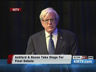 Ashford, Bacon take stage for final debate