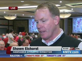 Husker Athletic Director looks ahead to Purdue