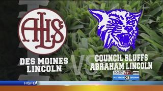 Des Moines Lincoln vs. CB Abraham Lincoln