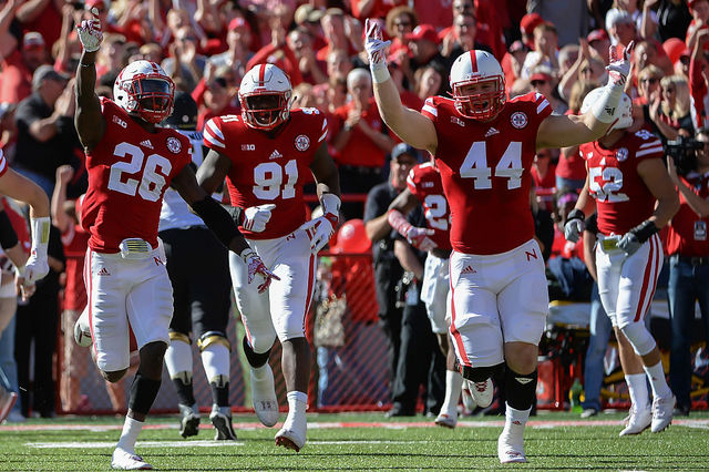 Image result for Nebraska beats Purdue 2016