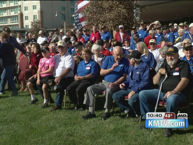 Reunion for hundreds of war veterans