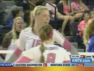 CU volleyball upsets KU to advance to Sweet 16