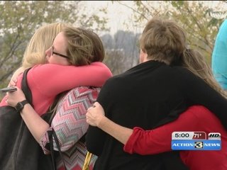 Community pays final respects to Speer family