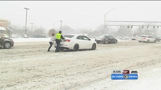 Omaha mayor speaks on snow removal
