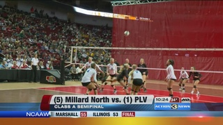 State Volleyball: Millard North vs. Papio