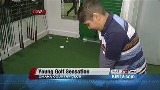 9 year old golfer on the way to Augusta