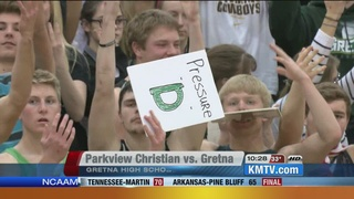 Gretna Routs Parkview Christian