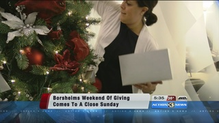 Weekend of giving wraps up at Borsheims